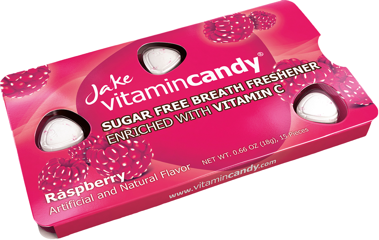 Jake Vitamincandy product - Raspberry