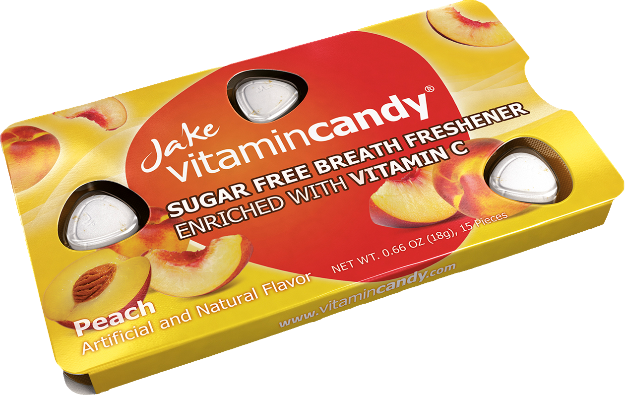 Jake Vitamincandy product - Peach