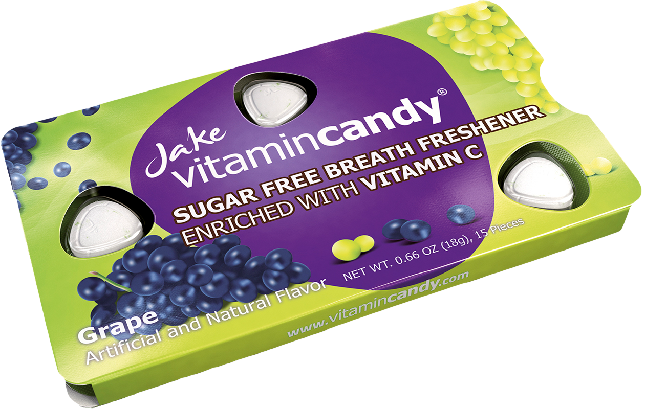 Jake Vitamincandy product - Grape
