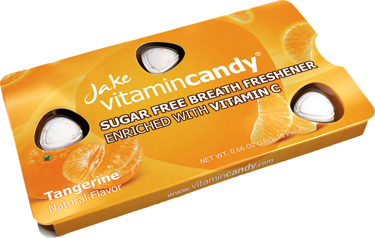 Jake Vitamincandy product - Tangerine